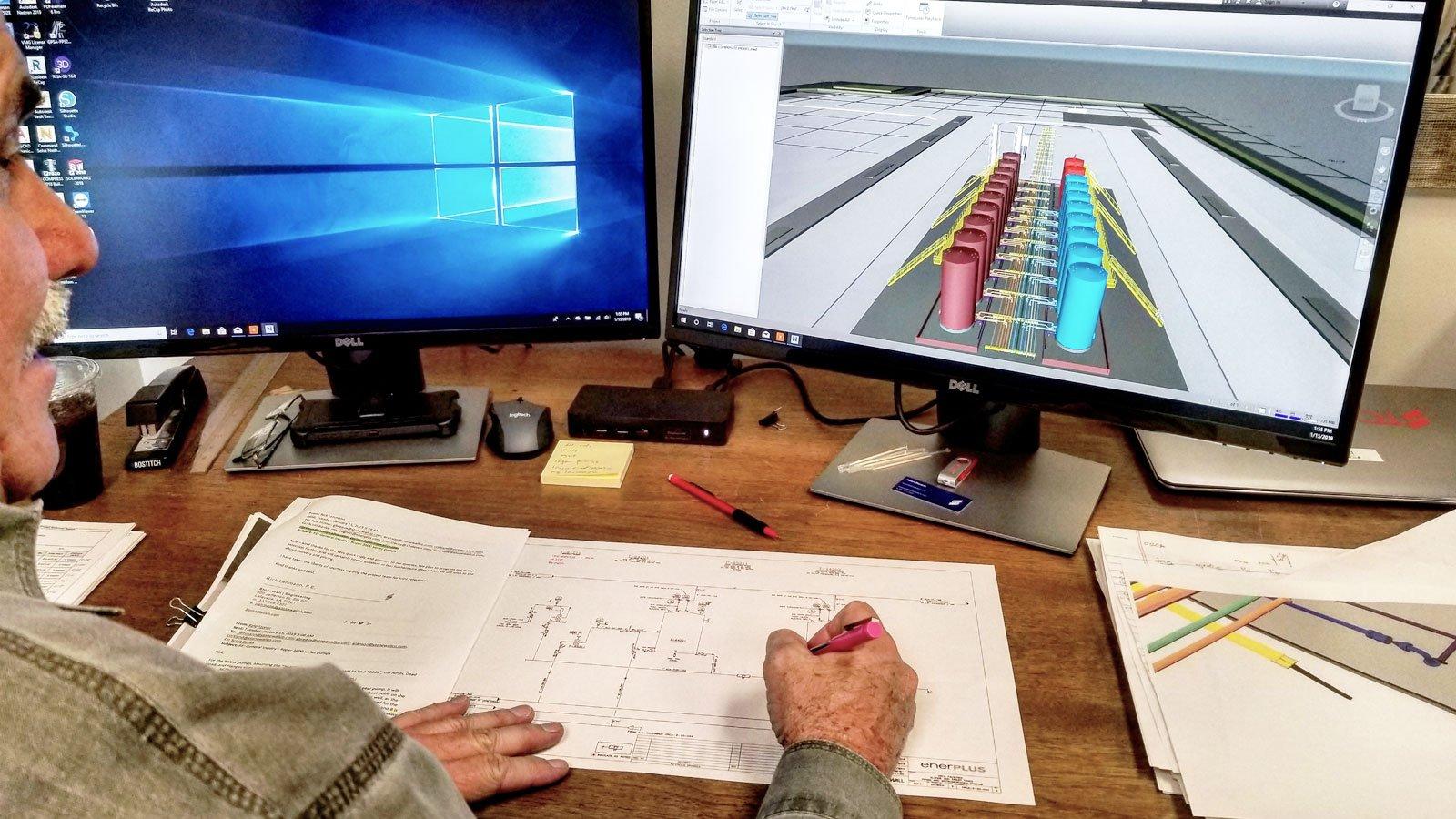 Stonewall Facilities Engineering Design CAD Drafting